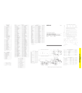 Download Cat Caterpillar Electrical Schematic 735 740 740e