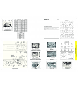 Download Cat Caterpillar Hydraulic Schematic 740 T3