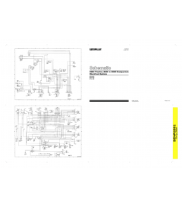 Download Cat Caterpillar Electrical Schematic 824c Tractor