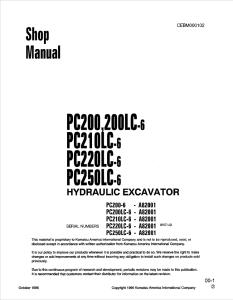 Komatsu D31E-20, D31P-20, D31PL-20, D31PLL-20, D31P-20A