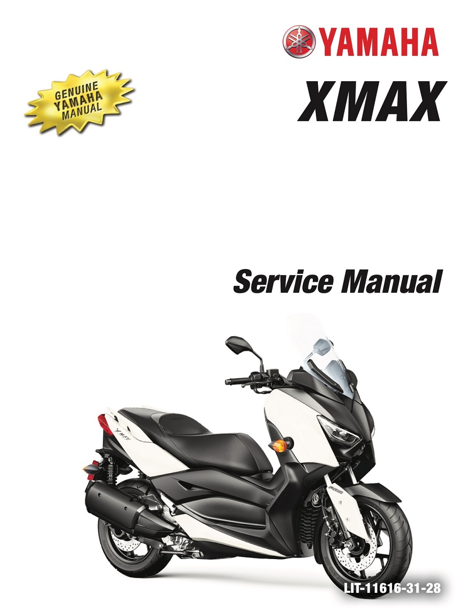 YAMAHA SCOOTER XMAX 20016-2020 Workshop & Repair manual