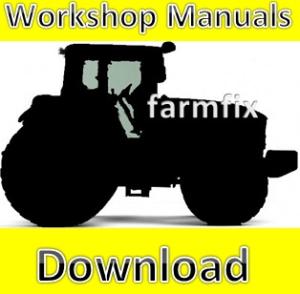 Ford New Holland 555E 575E 655E 675E Tractor Backhoe