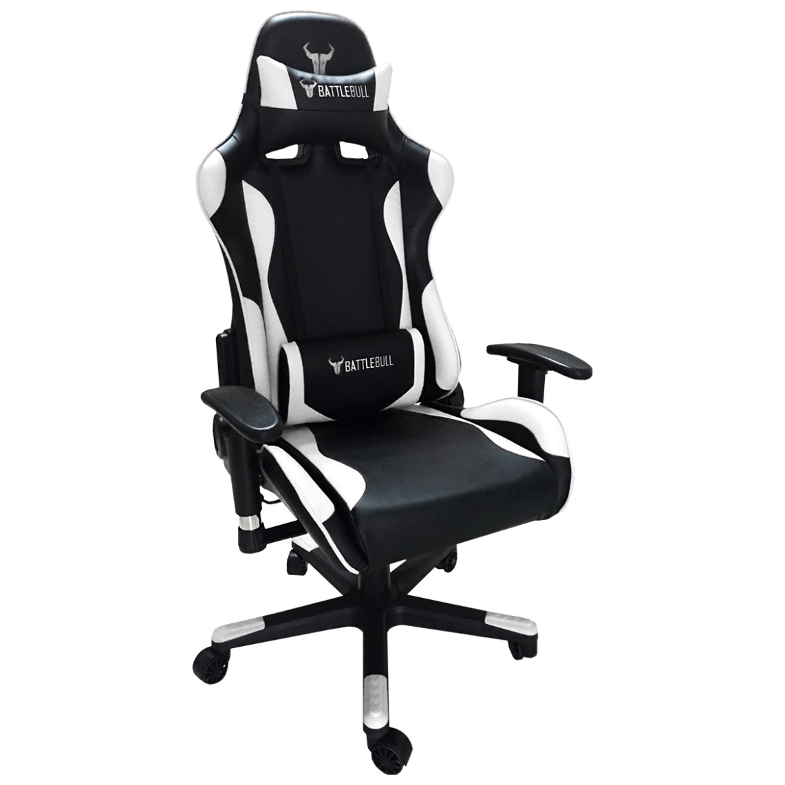 White Gaming Chair Battlebull Combat Gaming Chair Black White Bb 620960