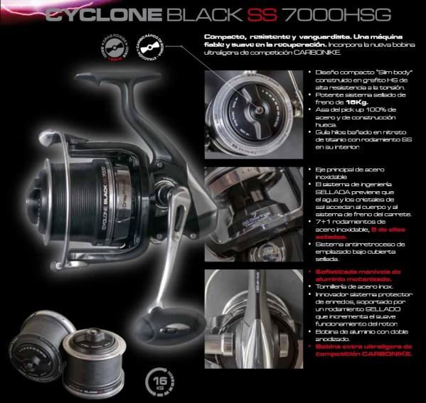 Cinnetic Cyclone Black SS