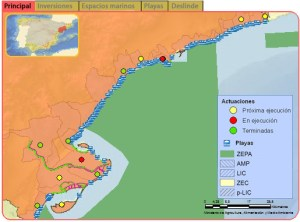 mapa tarragona costa