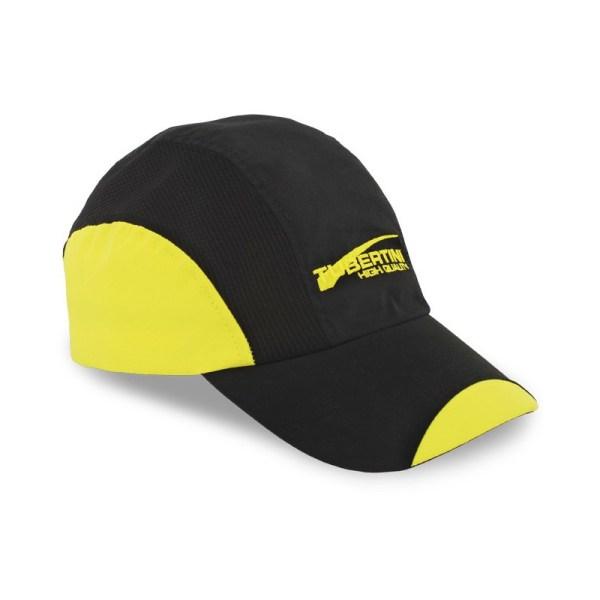 Gorra de Tubertini negra y amarilla