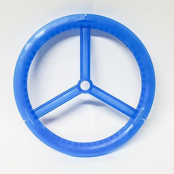 Rueda de plástico para guardar aparejos