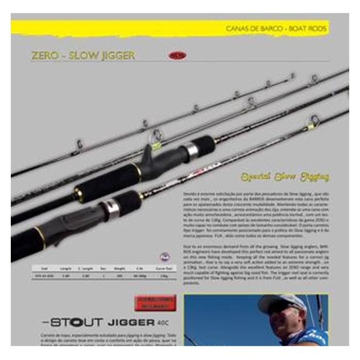 Cana jigging BARROS ZERO SLOW JIGGER 40-300 gr - 200