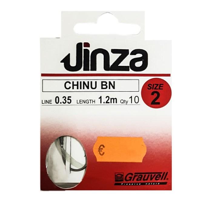 Anzuelo Jinza Chinu BN empatillado
