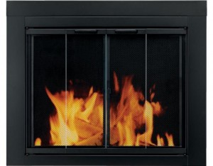 Pleasant-Hearth-AT-1001-Ascot-Fireplace-Glass-Door