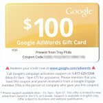 adwords gift card