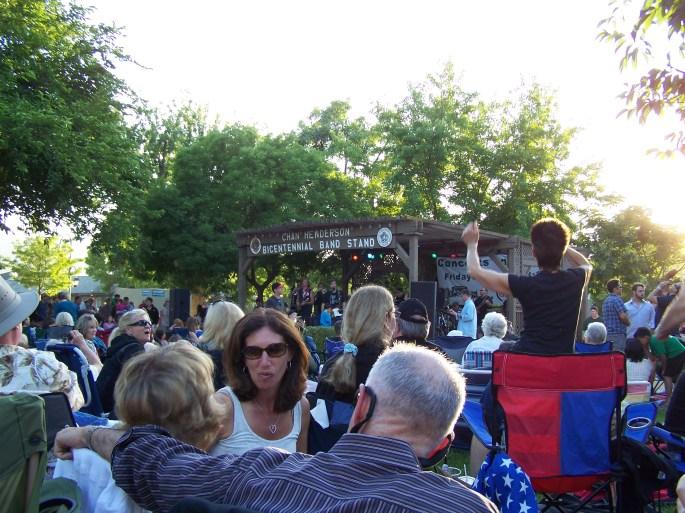 Pleasanton Free Concerts 2012 -Concert in the Park