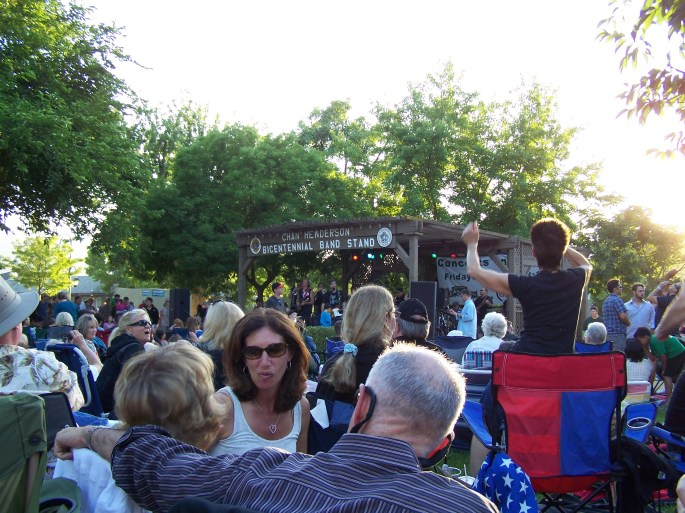 Pleasanton Free Concerts 2012 -Concert in the Park