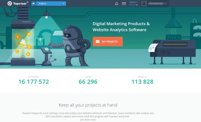 topvisor seo software review