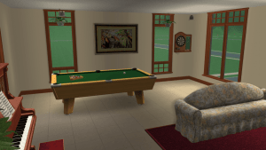 Retirement Home Game Room