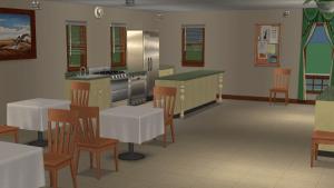 Retirement Home Kitchen
