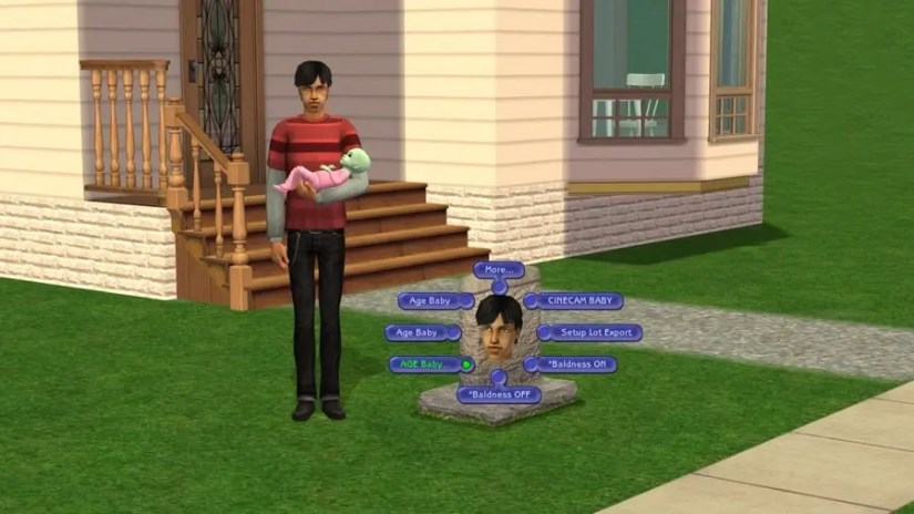 AGE Baby Tombstone L and D Sims 2