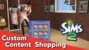 Sims 2 CC Shopping - 12_30_2018