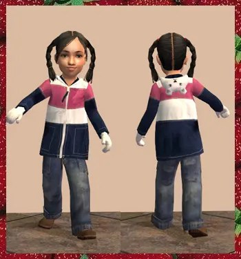 Sims 2 Toddler CC - Outerwear