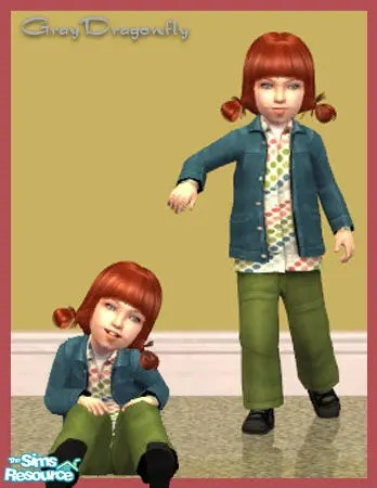 Sims 2 Toddler CC Unisex