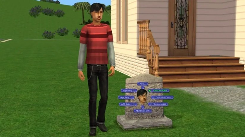 Sims 2 Tombstone L and D Cinecam