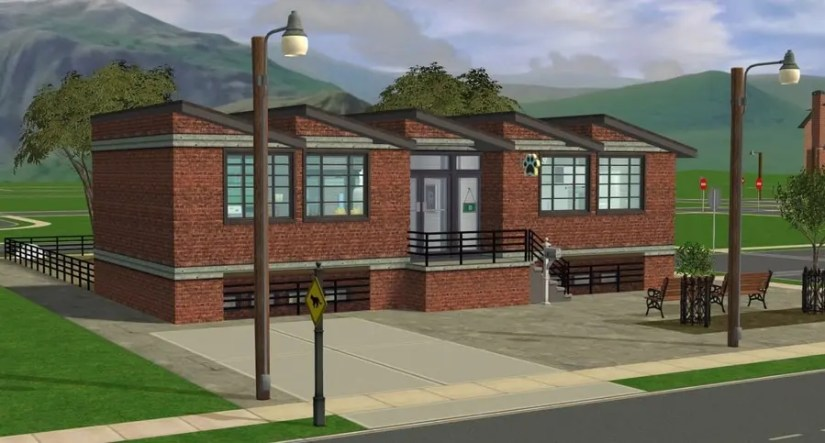 Edgewood Animal Shelter Sims 2