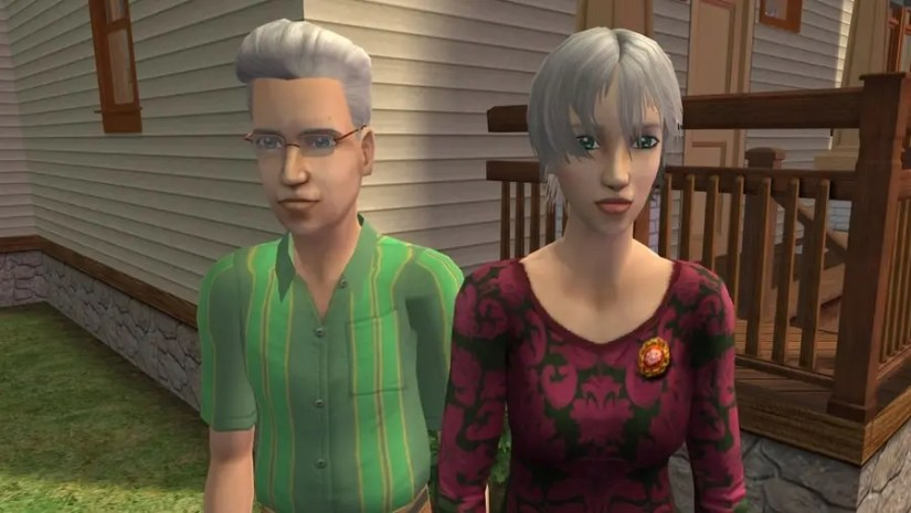 Sims 2 Fairplay Oakley Family 2