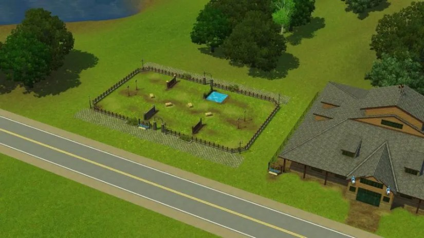 Horse Training Grounds Sims 3 Pleasantview