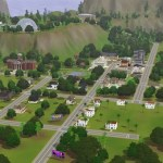 The Sims 3 Pleasantview Recreation ~ Original Map ~ Populated ~ NO CC