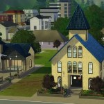 Plum Hill Wedding Chapel ~ Sims 3 Download
