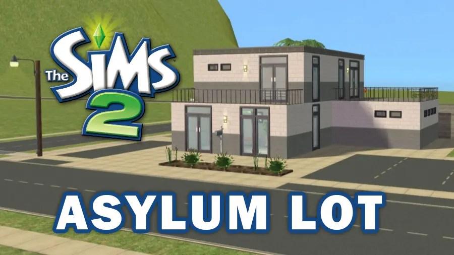 Sims 2 Asylum Challenge Lot