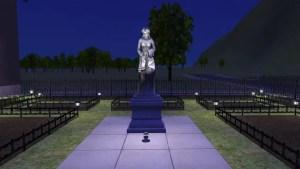 Cemetery Status at Night