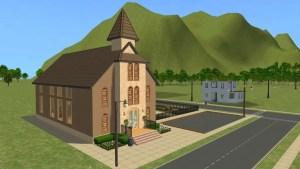 Pleasantview Church Side View 2