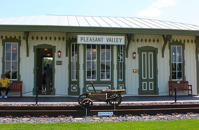 PV Train Station  Town of Pleasant Valley