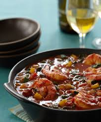 Albariño and a cheeky prawn stew, perfect!