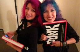 Tish and Snooky from Manic Panic at the Punk Magazine Book Launch Party in Brooklyn.