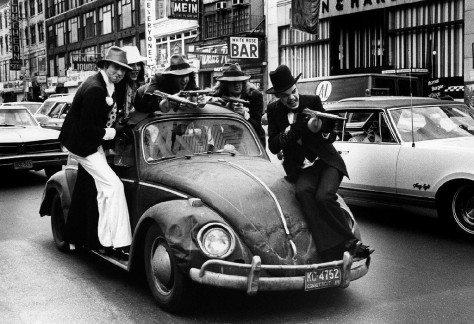 Photo: Bob Gruen - New York Dolls, NYC, 1974)