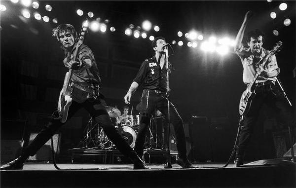 Photo by Bob Gruen - The Clash - 1979