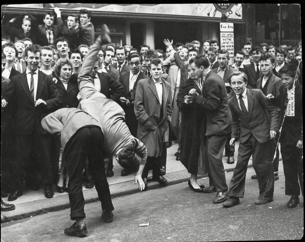 Teds dancing. Photo: Associated Newspapers/ Rex/ Rex USA