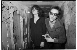 David Johansen and Richard Hell