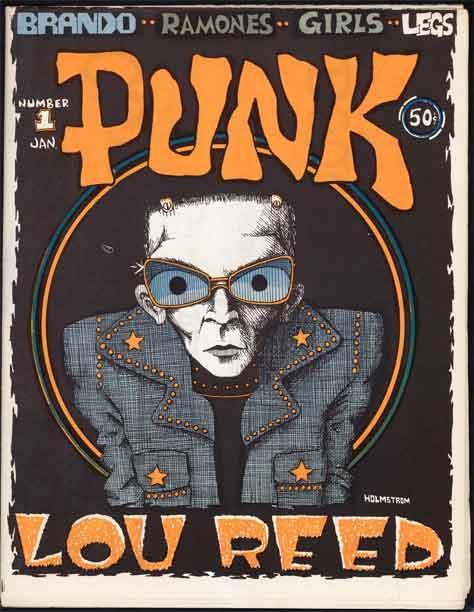 Punk #1 - Lou Reed issue Punk Magazine