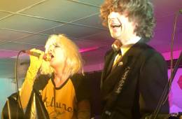 Debbie and Andy Harris of Bootleg Blondie.