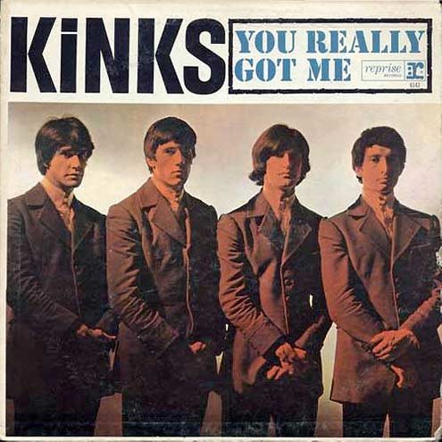 Kinks Record Cover - You Really Got Me