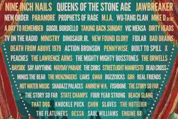 Riot Fest Lineup 2017