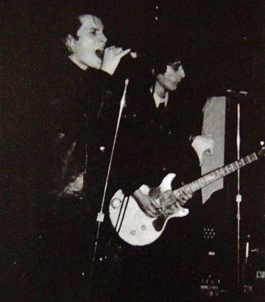 Philippe Marcade & Johnny Thunders- courtesy of Philippe Marcade