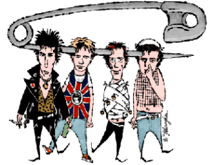 Sex Pistols by © Ed Fotheringham