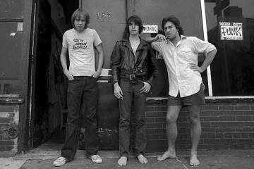 Punk Magazine founders NYC 1976