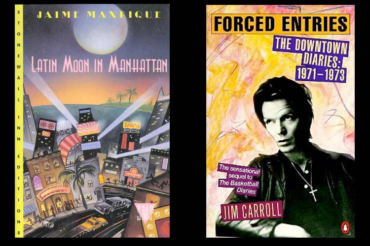 Ten Great New York City Novels - Latin Moon in Manhattan & Forced Entries