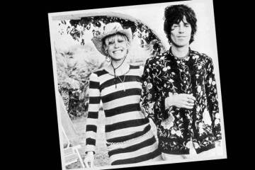 Anita Pallenberg and Keith Richards, Villa Nellcôte - by Dominique Tarlé