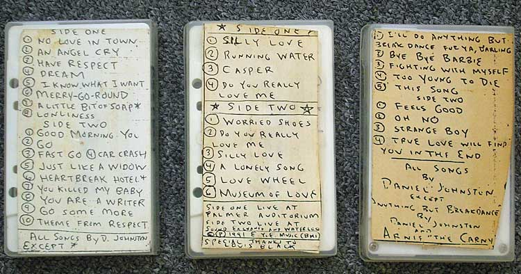 Daniel Johnston tapes